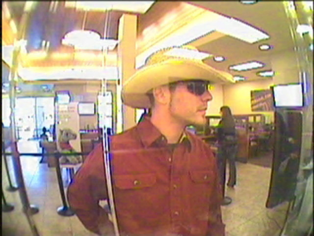 Henderson police are searching for a man in connection with a series of bank robberies during the past two months.