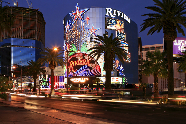 The Riviera Hotel and Casino is shown in a 2008 file photo. (DUANE PROKOP / REVIEW-JOURNAL FILE)