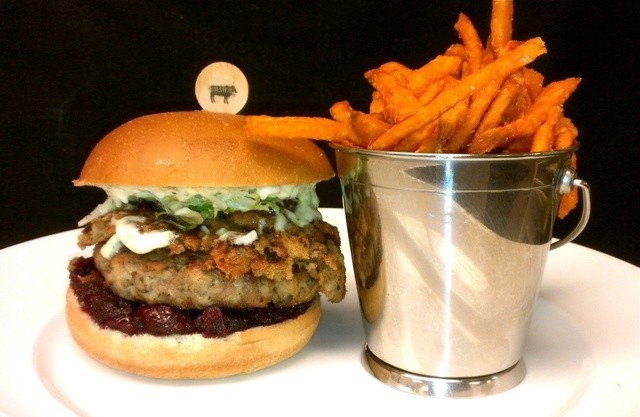 Billy Burger at Holstein's Shakes and Buns. (Courtesy)