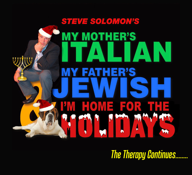 Steve Solomon's new holiday-themed show, opening Thursday at The Smith Center's Troesh Studio Theater.