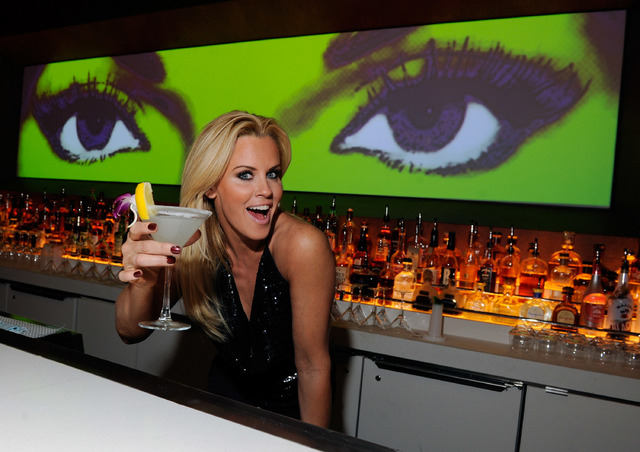 Jenny McCarthy films a TV special at the Hard Rock Hotel this week. This photo is from when she partied in March at Andrea's in Encore. Courtesy photo by David Becker/WireImage.