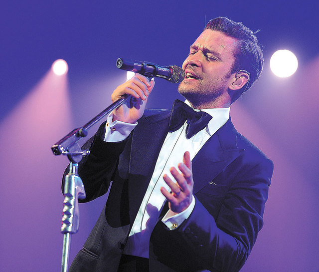 Justin Timberlake will melt a few hearts this weekend at the MGM Grand Garden.  (Photo by Frank Micelotta/PictureGroup)