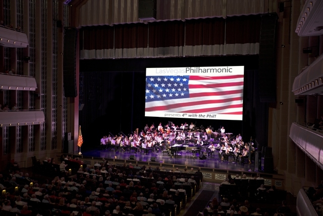 """The Las Vegas Philharmonic will perform Beethoven's """"Eroica"""" Symphony No. 3 in E-flat major during its """"Love of Country"""" concert. It represents the Philharmonic's first Beethoven perfo ..."""