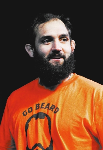 Johny Hendricks will fight Georges St. Pierre in main event of UFC 167 on Saturday (Jason Bean /Las Vegas Review-Journal)