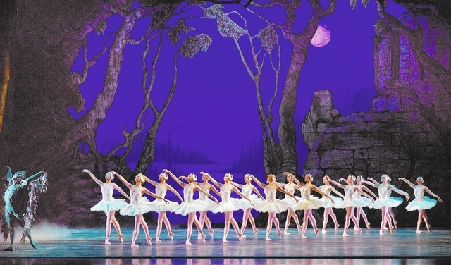 "Nevada Ballet Theatre performs ""Swan Lake,"" Act II, at The Smith Center Nov. 1 - NBT courtesy photo by VIrginia Trudeau"