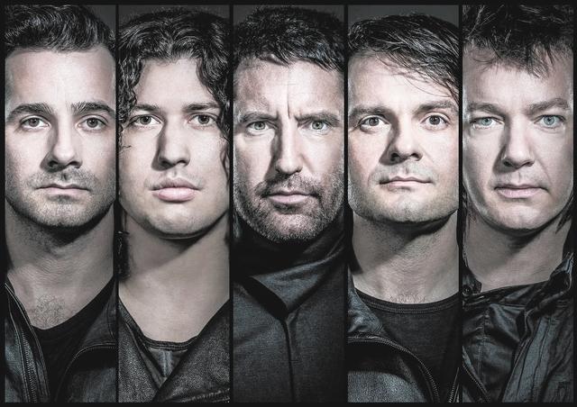 "Nine Inch Nails' new album, ""Hesitation Marks,"" is their first since 2008's ""The Slip."" (COURTESY/BALDUR BRAGSON)"