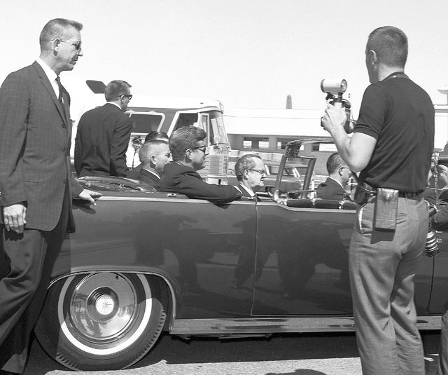 President John F. Kennedy visits Las Vegas on Sept. 28, 1963. Less than two months later, on Nov. 22, Kennedy was assassinated in Dallas. (Courtesy Las Vegas News Bureau)