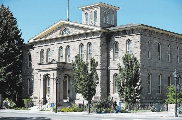 The Nevada State Museum in Carson City is housed in a former U.S. Mint and is on the National Register of Historic Places. (Cathleen Allison/Las Vegas Review-Journal)