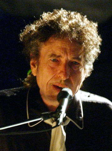 """Bob Dylan performs at a festival in Jackson, Miss., in a  May 17, 2003,file photo. Dylan will perform at Denmark's annual Roskilde Festival as part of his """"Never Ending"""" Tour,organizers said Wedne ..."""