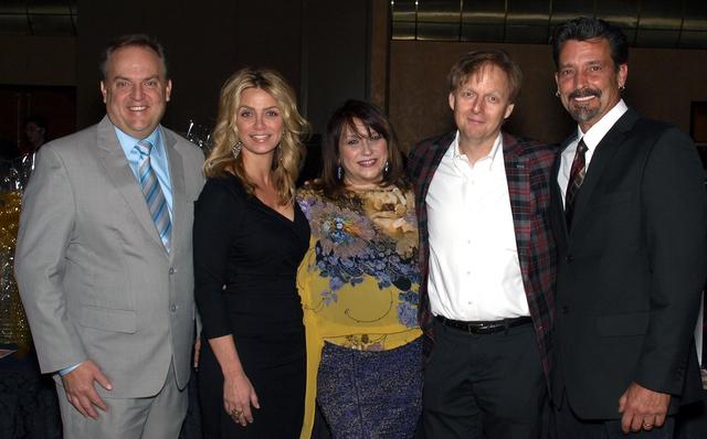 Scott Walker, from left, Marti Agassi, Anita Ward, Mac King and Robert Torti. (Courtesy)