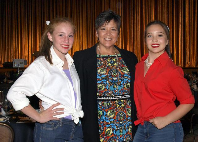 Samantha Ross, from left, Darlene Williams and Sydney Tello. (Courtesy)