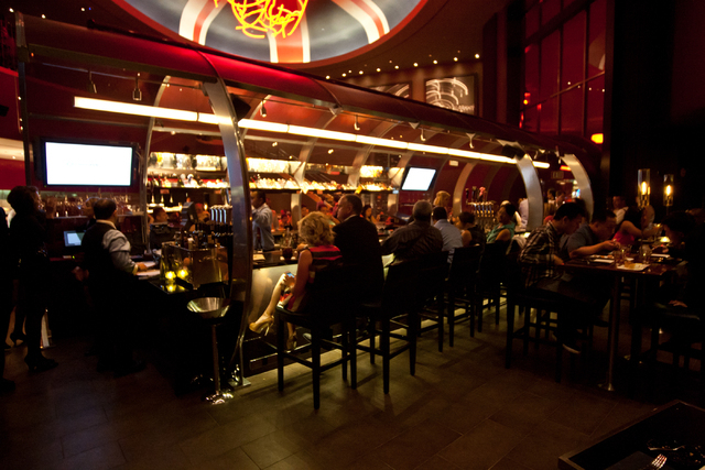 "The Gordon Ramsay Steak restaurant at The Paris Las Vegas was created by celebrity chef, the star of the reality series ""Hell's Kitchen."" (Chase Stevens/Las Vegas Review-Journal)"
