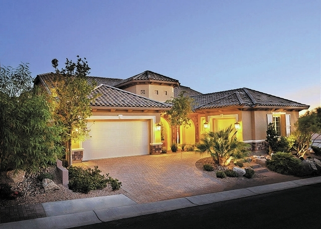 Courtesy photo Richmond American's Henley measures 3,950 square feet. It is one of the five floor plans in the builder's planned community, Madeira Canyon.