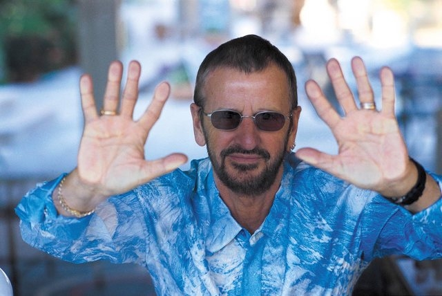 Ringo Starr & His All Starr Band performs this weekend at The Pearl at the Palms. (Courtesy)