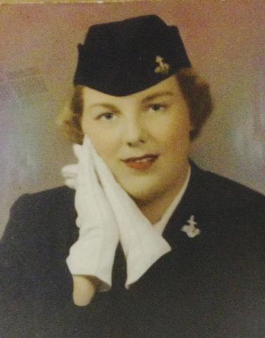 Sandi Niccum is shown in an undated service photo. (Courtesy Dee Redwine)