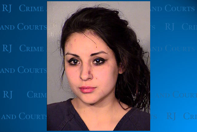 Sarah Chavez is facing a charge of murder with a deadly weapon after police say she stabbed a woman during a fight Tuesday night. (Courtesy, Las Vegas Metropolitan Police Department)