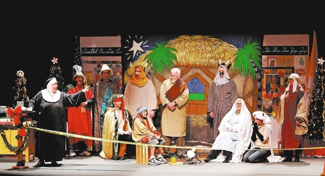 """Audience members are featured during the Nativity pageant in """"Sister's Christmas Catechism,"""" which will be at The Smith Center this weekend. (Courtesy, Entertainment Events)"""