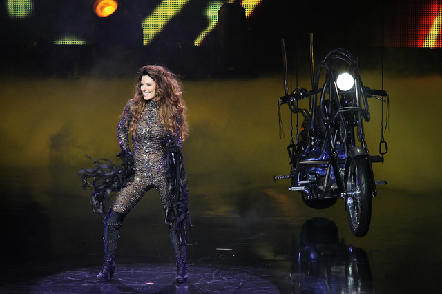 "Shania Twain's ""Still the One"" show marks its first anniversary this weekend at the Colosseum in Caesars Palace. (Jason Bean/Las Vegas Review-Journal)"
