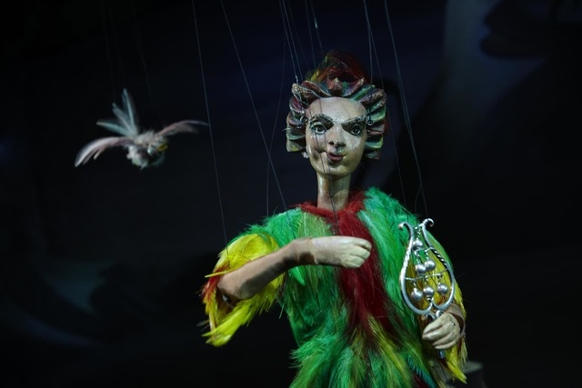 "Salzburg Marionette Theater's production of ""The Magic Flute"""