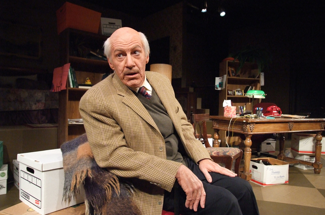 """Tom Dugan wrote and performs """"Wiesenthal."""" Dugan, who is Irish Catholic, says audiences seem surprised and delighted to find someone who is not Jewish leading a Holocaust-themed play. He says  ..."""