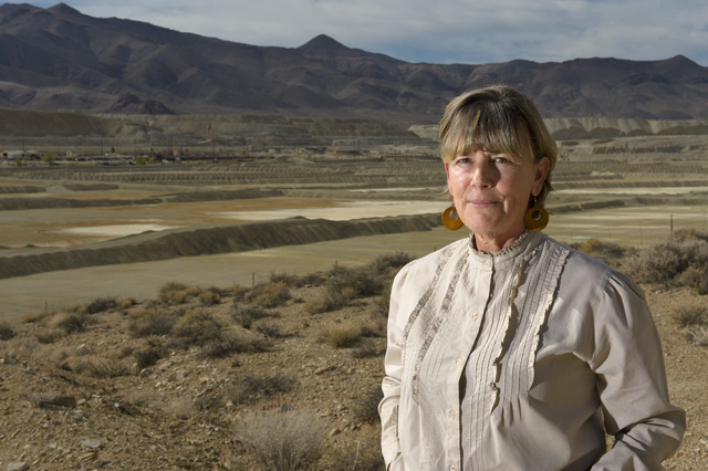 Peggy Pauley, who formed Yerington's first citizen advocacy group to address the water contamination from the former Anaconda copper mine site near Yerington, says the lawsuit was not about gett ...