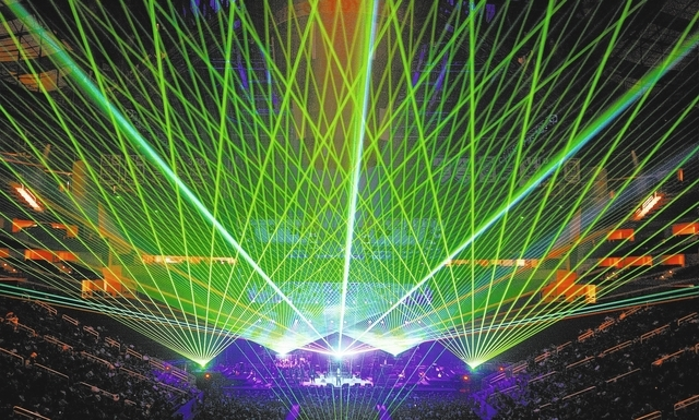 The Trans-Siberian Orchestra's annual holiday concert features lasers and fire. (Courtesy)