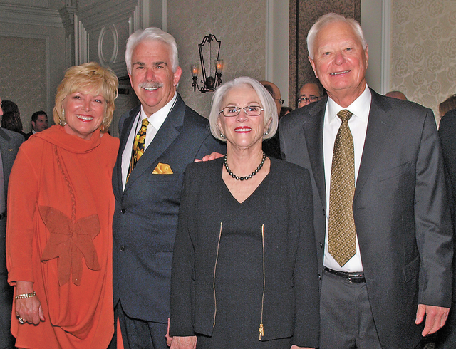Genene and Bill Boldt, from left, and Maria and Ted Quirk. (Courtesy)