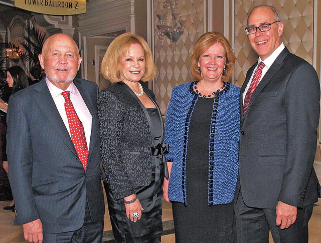 Rick and Jeri Crawford, from left, and Debbie and Neal Smatresk. (Courtesy)