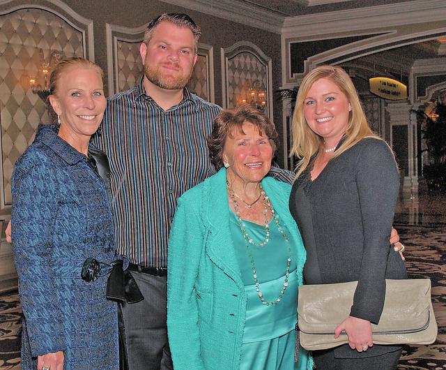 The Mack family, from left, Marilynn, Albert, Joyce and Karissa. (Courtesy)