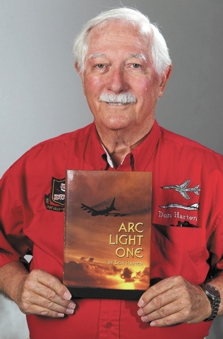 Don Harten poses for a photo at the Review-Journal, Monday, Oct. 28, 2013. Harten was an Air Force 1st. Lieutenant in 1965 when he was involved in a mid-air collision involving two B-52 bombers ov ...