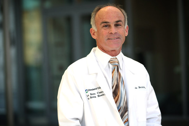 Dr. Charles Bernick, associate medical director of the Cleveland Clinic Lou Ruvo Center for Brain Health, is seen at the center in downtown Las Vegas on Nov. 13, 2012. (Jessica Ebelhar/Las Vegas R ...