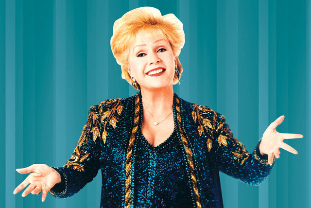 Debbie Reynolds performs Friday-Sunday at South Point. Courtesy photo.