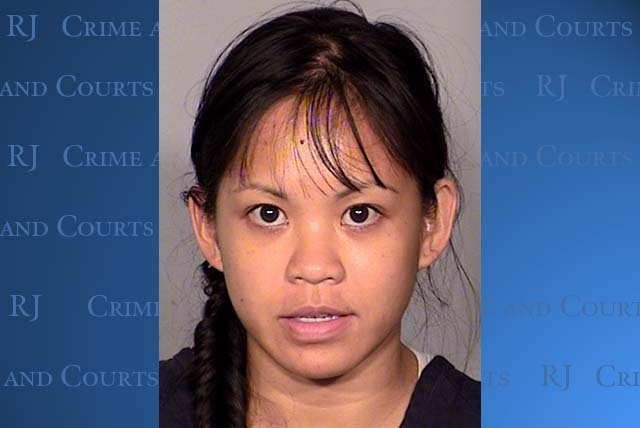 Elinor Indico, 31, indicted on murder charges in the stabbing of her pregnant sister-in-law in October, prosecutors said Friday. (Courtesy, Las Vegas Metropolitan Police Department)