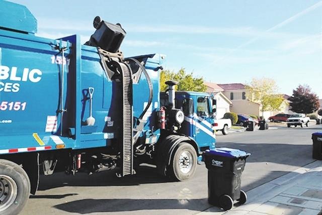 Republic Services Garbage Truck Las Vegas