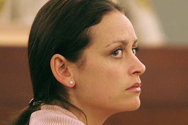 Jamie Hein appears in Clark County District Court Friday, May 4, 2007, in connection with the death of her aunt's boyfriend, 36-year-old Timothy Herman. (File, GARY THOMPSON/LAS VEGAS REVIEW-JOURNAL)