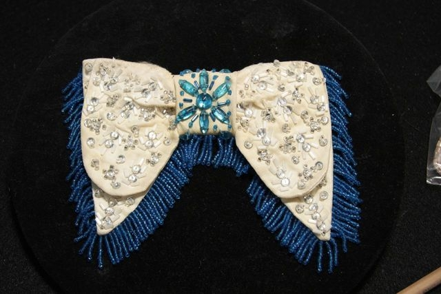Liberace's blingy Western bow tie is part of a special Liberace exhibit openng at the Cosmopolitan. (Courtesy)