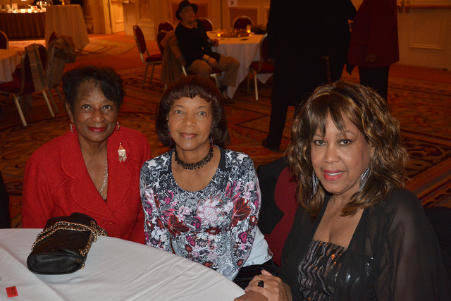 Ida Gaines, from left, Wanda Collins and Pat Prince. (Courtesy Photo by Ted Mason)