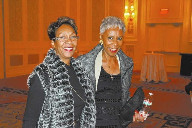 Sharon Taylor, left, and Sharon Hammock. (Courtesy Photo by Ted Mason)