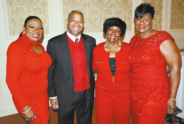 Lillian McMorris, from left, Brian Pauling, Sylvia Allen and Glennie Gaines. (Courtesy Photo by Ted Mason)