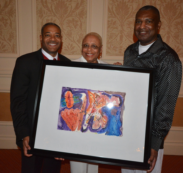 Brian Pauling, from left, Peggy Selma and Ken Ruffin. (Courtesy Photo by Ted Mason)