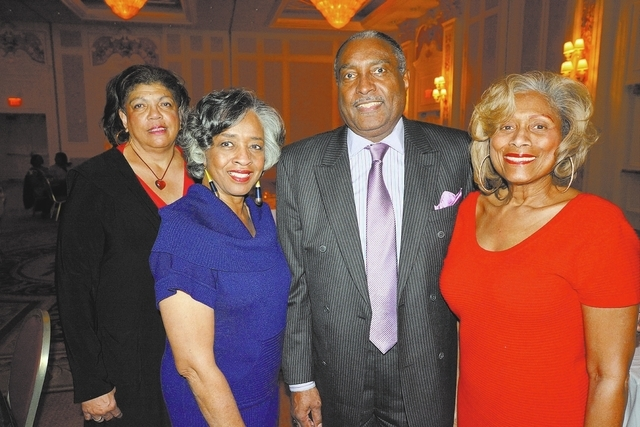 Tiona Thompson, from left, Gwen Rogers, Arthur Williams and Bette Bowden. (Courtesy Photo by Ted Mason)