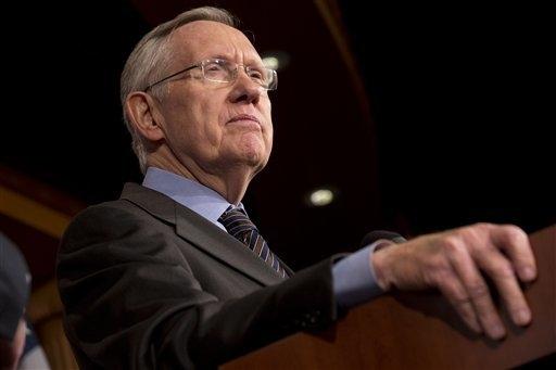 Senate Majority Leader Harry Reid (AP Photo/Jacquelyn Martin)