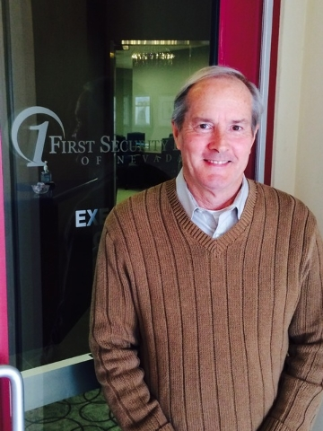 John Sullivan, president and chief executive officer of First Security Bank of Nevada