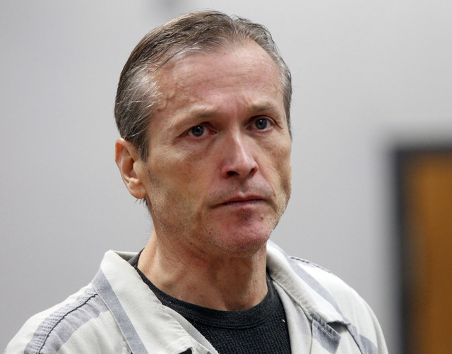 Martin MacNeill, appearing in Judge Sam McVey's Fourth District Court in Provo, Utah for his preliminary hearing. (AP Photo/The Salt Lake Tribune, Al Hartmann, Pool)