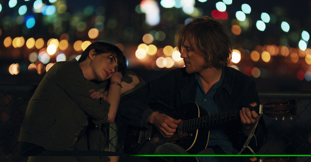 "Anne Hathaway, left, and Johnny Flynn in a scene from the film, ""Song One,"" directed by Kate Barker-Froyland. Ladies continue to drive the lineup of the Sundance Film Festival as Robert Redfords i ..."