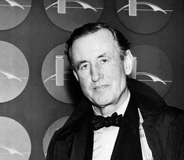 This 1962 file photo shows Ian Lancaster Fleming, the best-selling British author and creator of a fiction character known as secret agent, James Bond. British doctors who carefully read Ian Flemi ...