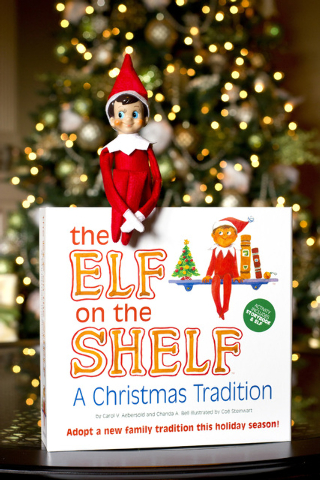 """""""The Elf on the Shelf: A Christmas Tradition"""" is a big seller. After eight years on the market, more than 6 million of the kits, book and elf, have been sold and the thing has climbed high on best ..."""