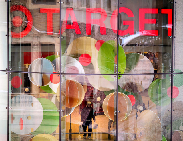 This Dec. 19, 2013, photo shows a Target store near Target headquarters in Minneapolis. Target says that about 40 million credit and debit card accounts customers may have been affected by a data  ...