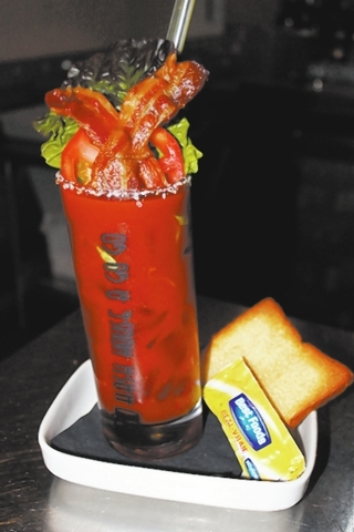 The BLT Mary at Hash House A Go Go, with four valley locations, features vodka and house mary mix trimmed with a fresh tomato wheel, slice of bacon, lettuce rib and white toast ($10.95, or $14.95  ...