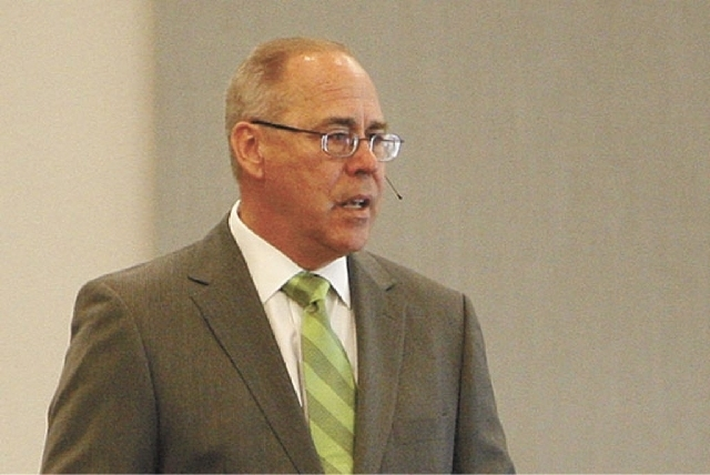Former UNLV President Neal Smatresk. (File, Las Vegas Review-Journal)
